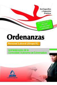 Ordenanza Test Especifico Y Suspuestos Practicos Extremadur