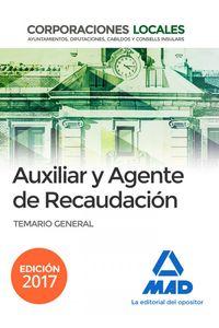 Aux Y Agente Recaudacion Corporaciones Locales Temario Gene