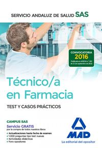 Tecnico/A En Farmacia Sas Test Y Casos Practicos 2016
