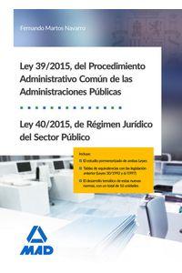 Procedimiento Administrativo Ley 39/2015 Y Ley 40/2015