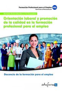 Orientacion Laboral Y Promocion Calidad Formacion Profesi