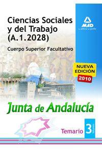Ciencias Sociales Y Del Trabajo Junta De Andalucia III