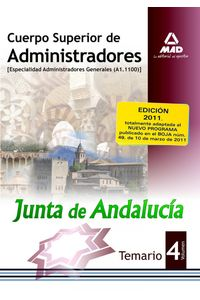 Cuerpo Sup. Administradores Junta De Andalucia IV General