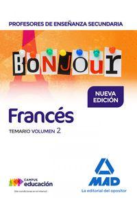 Temario II Frances Profesores Enseñanza Secundaria