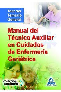 Manual Tecnico Aux.enfermeria Geriatrica Test Temario Genera