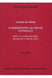 Interpretatio Alcorani Litteralis