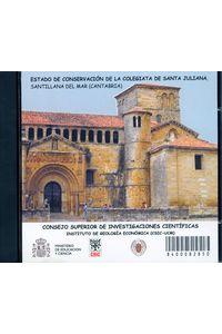 Estado Conserv.CD Colegiata Sta Juliana Santillana Del Mar