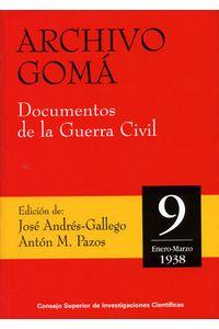 Archivo Goma 9 Documentos Guerra CIVIL