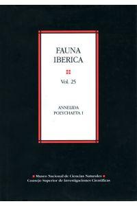 Fauna Iberica 25 Annelida Polychaeta