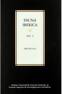 Fauna Iberica 4 Sipuncula
