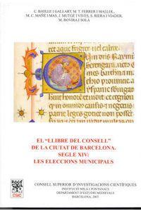 Llibre Del Consell De La Ciutat De Barcelona