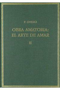 Obra Amatoria Arte De Amar II