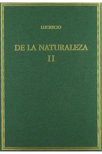 De La Naturaleza II