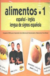 Alimentos 1 Baraja Español/Ingles Signos Alimentos 1 Baraja Español/Ingles Signos