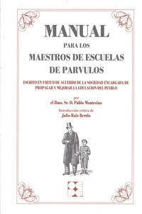 Manual Maestros De Escuelas Parvulos