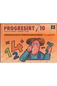Progresint 10 Calculo Y Resol.problemas