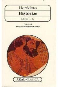 Historias Herodoto I IV Ca