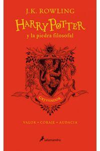 Harry Potter 1 Y La Piedra Filosofal Gryffindor 20 Aniversa