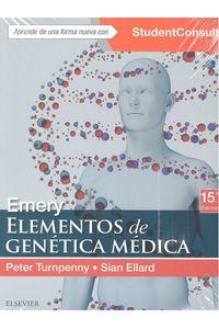 Emery Elementos De Genetica Medica