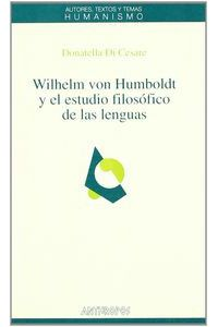 Wilhelm Von Humboldt Y El Estudio Filosofico