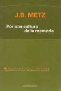 Por Una Cultura De La Memoria