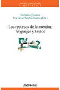 Recursos De La Mentira Lenguajes Y Textos
