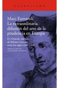 Extraordinaria Difusion Del Arte De La Prudencia En Europa
