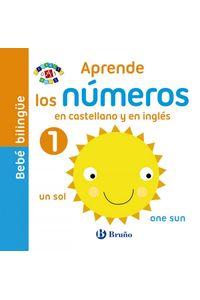 Bebe Bilingue Aprende Los Numeros En Castellano Y En Ingles
