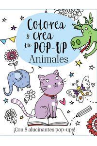 Colorea Y Crea Tu Pop Up Animales