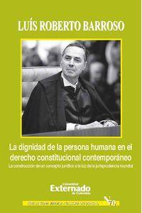 bw-la-dignidad-de-la-persona-humana-en-el-derecho-constitucional-contemporaacuteneo-u-externado-de-colombia-9789587722086