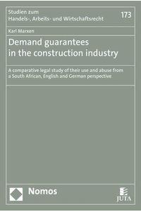 bw-demand-guarantees-in-the-construction-industry-nomos-verlag-9783845293158