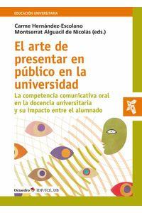 bw-el-arte-de-presentar-en-puacuteblico-en-la-universidad-ediciones-octaedro-9788418615245