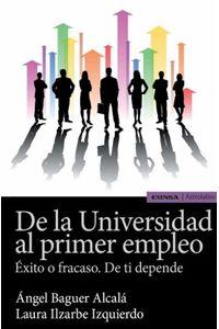 bw-de-la-universidad-al-primer-empleo-eunsa-ediciones-universidad-de-navarra-9788431355746
