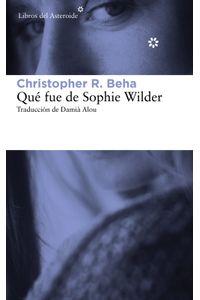 lib-que-fue-de-sophie-wilder-libros-del-asteroide-9788415625872