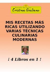 lib-mis-recetas-mas-ricas-utlizando-varias-tecnicas-culinarias-modernas-bubok-publishing-9788468615523