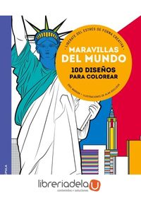 ag-maravillas-del-mundo-100-disenos-para-colorear-liberate-del-estres-de-forma-creativa-9788448021986