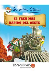 ag-geronimo-stilton-13-el-tren-mas-rapido-del-oeste-9788408064022