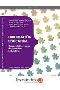 ag-cuerpo-de-profesores-de-ensenanza-secundaria-orientacion-educativa-programacion-didactica-desde-equipos-de-orientacion-educativa-y-psicopedagogica-editorial-cep-sl-9788468143439
