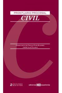 lib-prontuario-procesal-civil-ediciones-experiencia-9788415179344