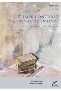 lib-primer-concurso-nacional-de-ensayos-argentina-en-el-bicentenario-18102010-editorial-universitaria-villa-mara-9789876990585