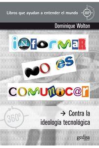 lib-informar-no-es-comunicar-gedisa-9788497845298