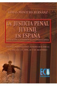 lib-la-justicia-penal-juvenil-en-espana-legislacion-y-jurisprudencia-constitucional-editorial-ecu-9788499488653