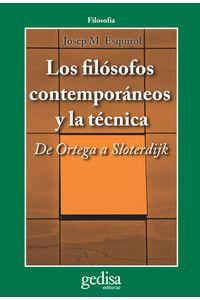 lib-los-filosofos-contemporaneos-y-la-tecnica-gedisa-9788497846806