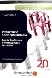 ag-cos-de-professors-d-ensenyament-secundari-intervencio-sociocomunitaria-temari-9788468110448