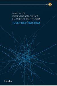 lib-manual-de-intervencion-clinica-en-psicogerontologia-herder-editorial-9788425437366