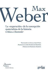 lib-la-superacion-de-la-concepcion-materialista-de-la-historia-gedisa-9788497848145