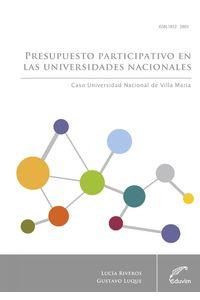 lib-presupuesto-participativo-en-las-universidades-nacionales-editorial-universitaria-villa-mara-9789876991308