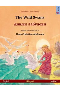 bw-the-wild-swans-ndash-bilingual-picture-book-based-on-a-fairy-tale-by-hans-christian-andersen-english-ndash-serbian-sefa-verlag-9783739953762