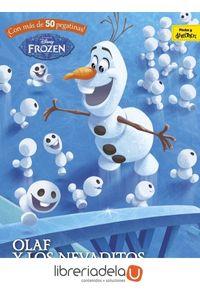 ag-frozen-olaf-y-los-nevaditos-colorea-pegatinas-actividades-libros-disney-9788416913657