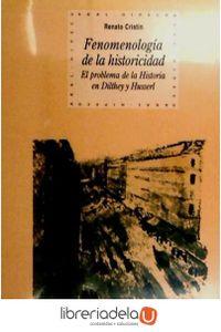 ag-fenomelogia-de-la-historicidad-el-problema-de-la-historia-en-dilthey-y-husserl-9788446014881